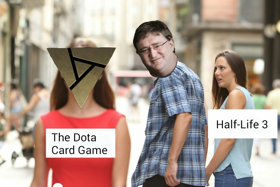 What actually happened at VALVe - meme