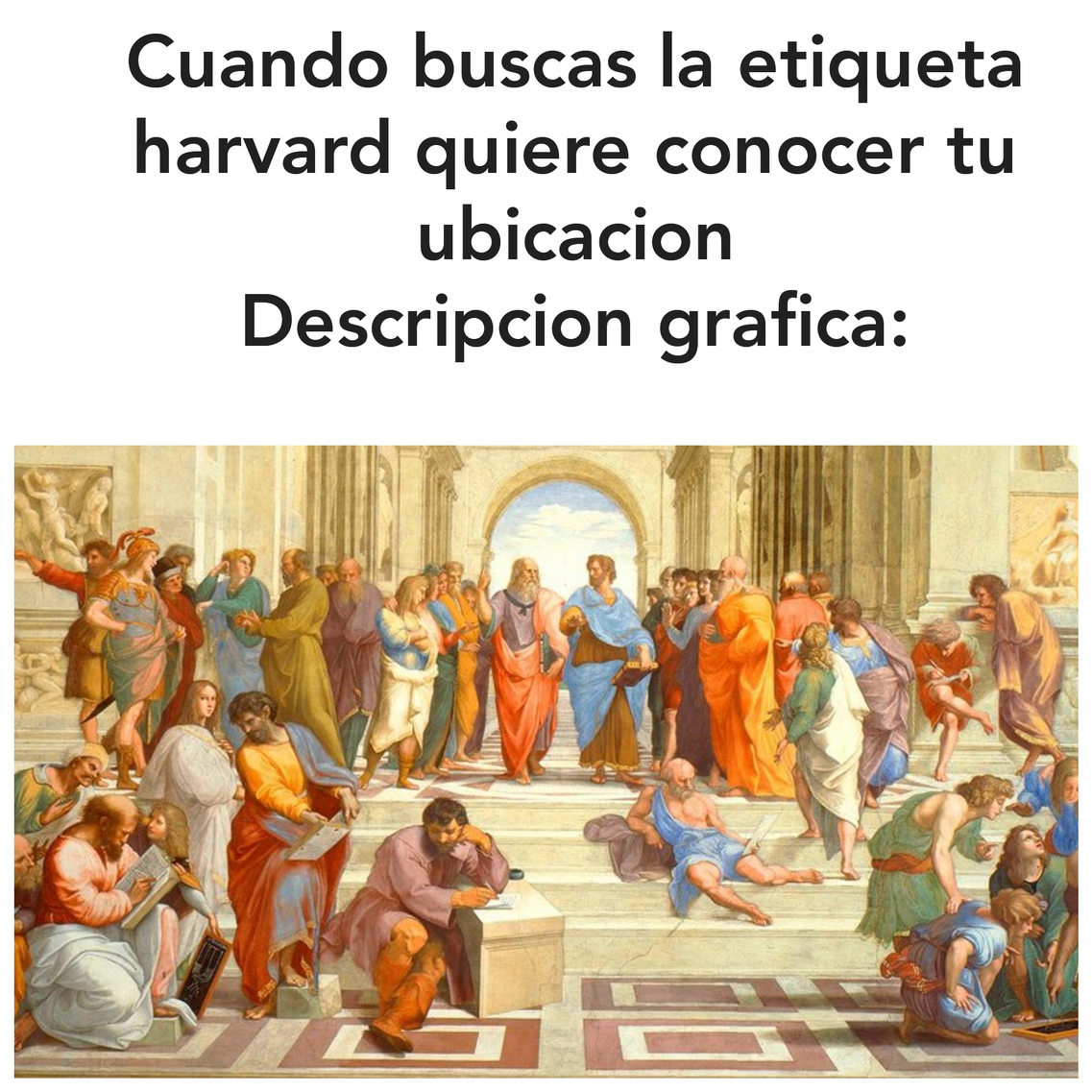 Descripcion grafica - meme
