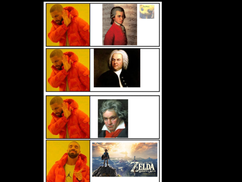 Solo los que lo hayan jugado entenderán la majestuosidad de la música aajaj mucho floro xd - meme
