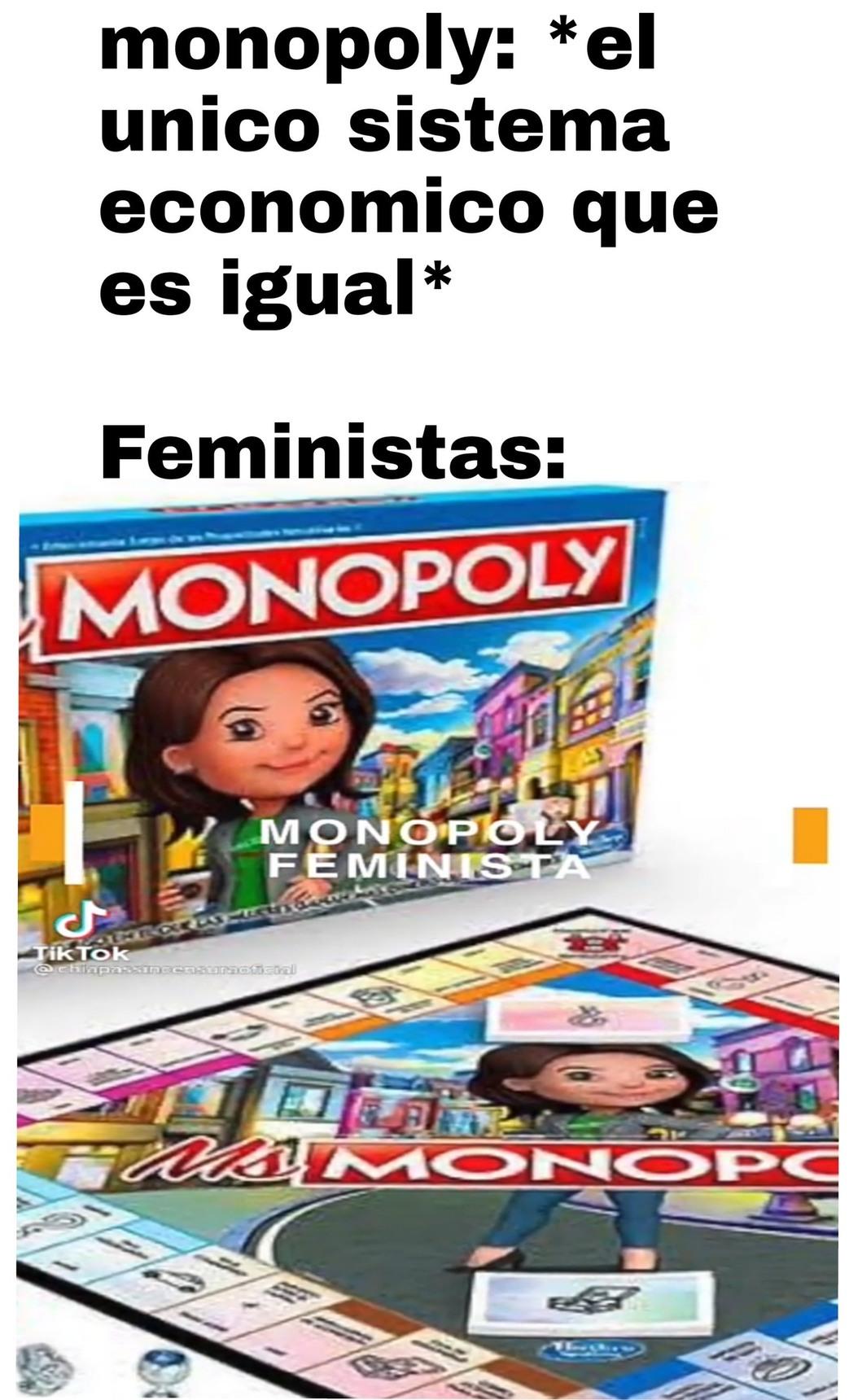 Que culpa tiene el monopoly? - meme