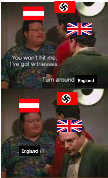 Austria is about to get annexed - meme