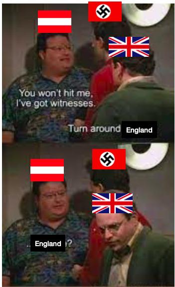 Austria is about to get annexed - meme