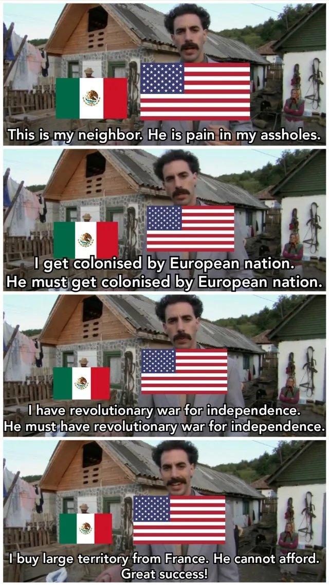 US - Mexico relations - meme