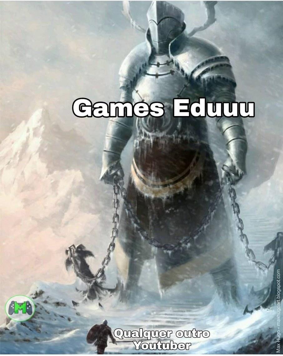 Melhor Youtuber - meme