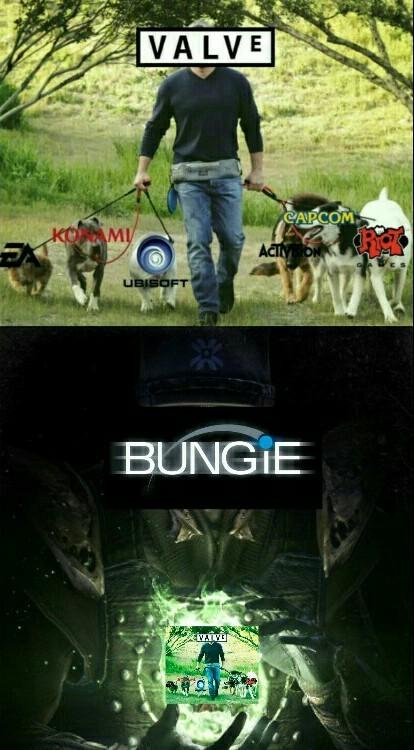 Bungie Dlc king - meme