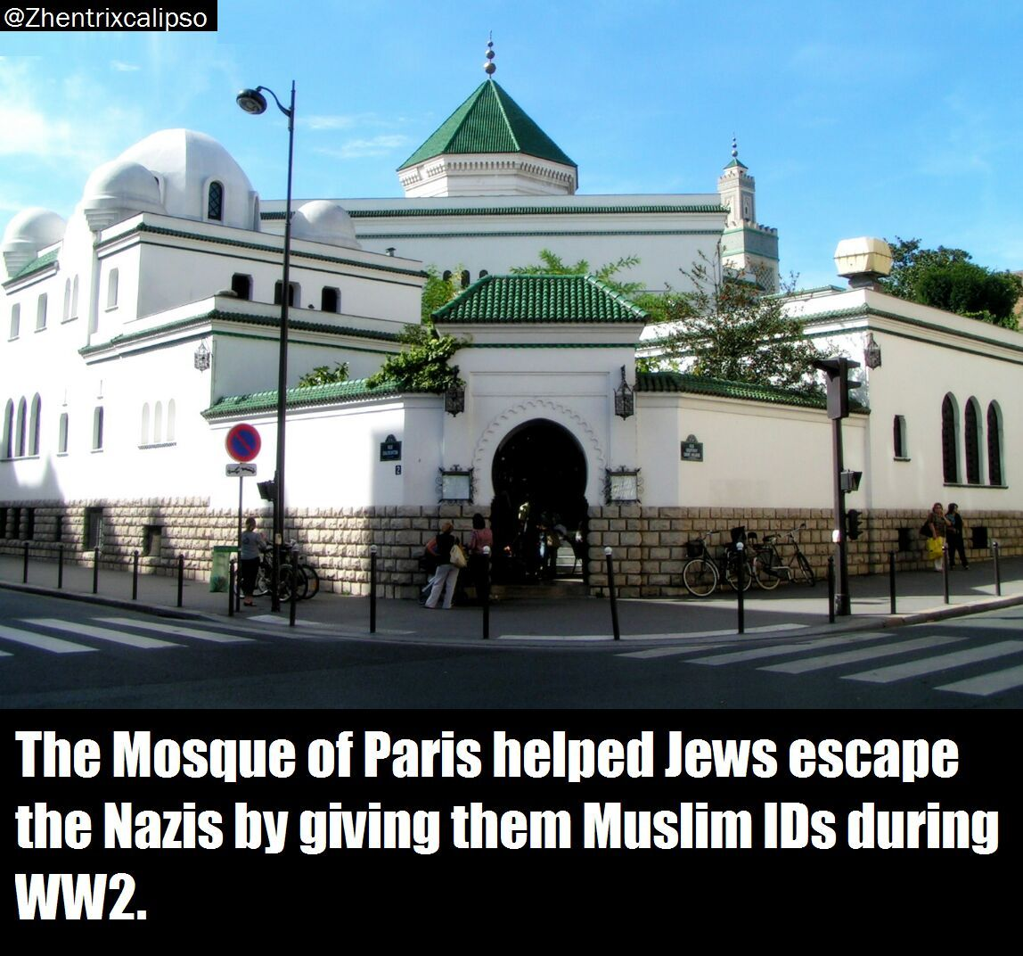 Good guy Paris Mosque - meme