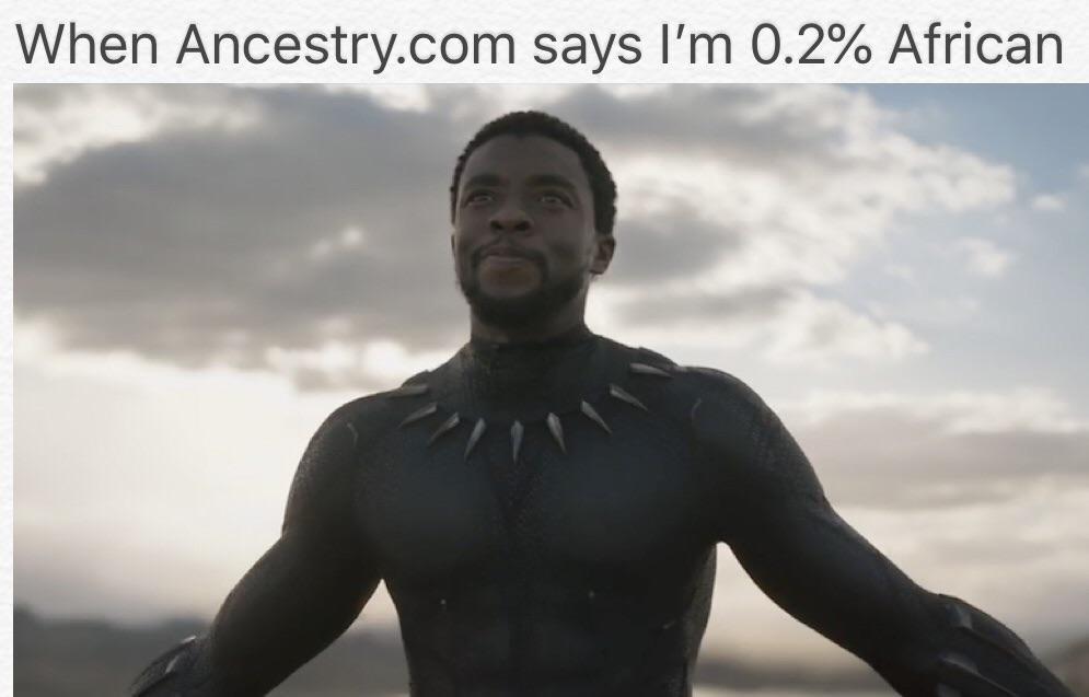 0.2% african - meme