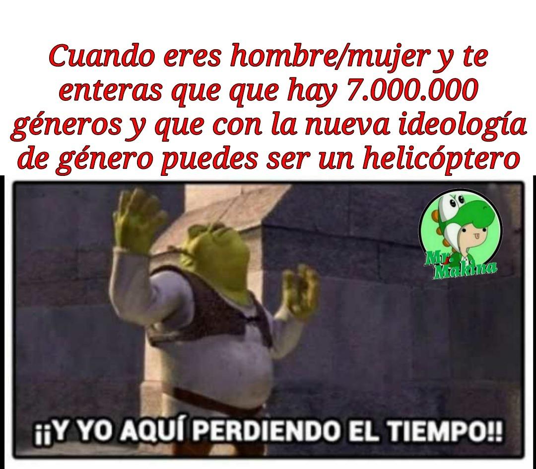 Joder, yo quiero ser un helicóptero - meme