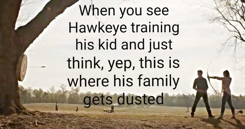 Hawkeye Dust - meme