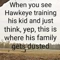 Hawkeye Dust