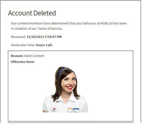 Roblox Account Deleted - meme