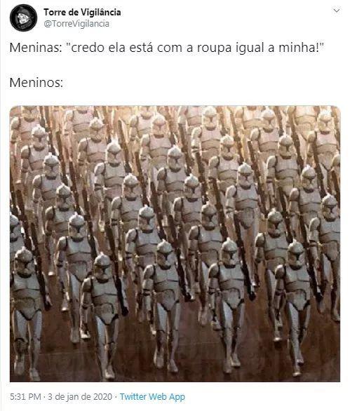 Treinamento pra guerra - meme