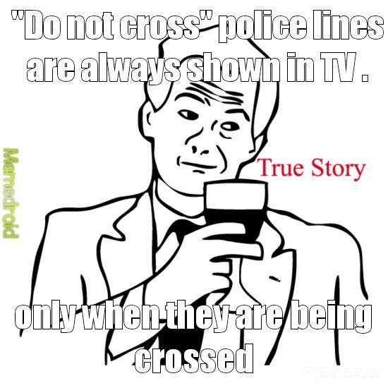 Law lines - meme