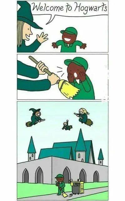 Bem vindo a hogwarts - meme