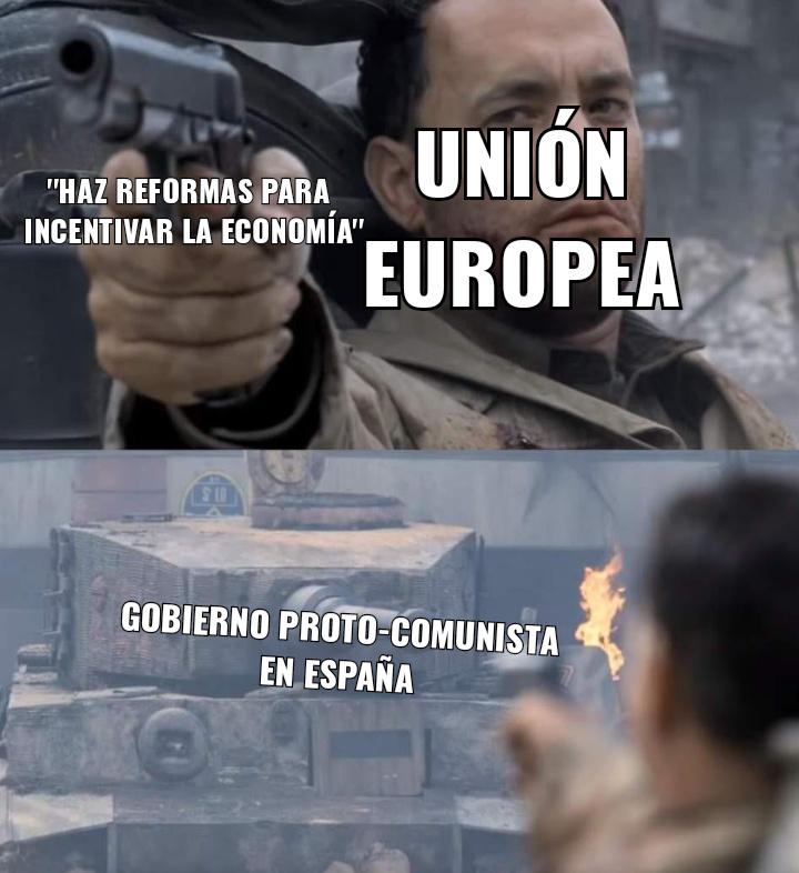 Y luego preguntan que por que nos queremos ir de España - meme
