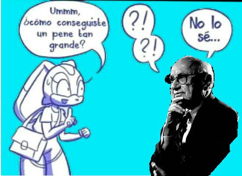 Milton Friedman, un capo. - meme
