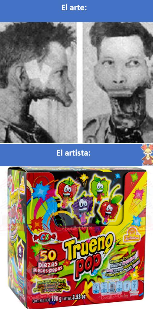 ESTABAN POTENTES LOS TRUENOS POPS!!!, no coman muchos trueno pops :son: - meme