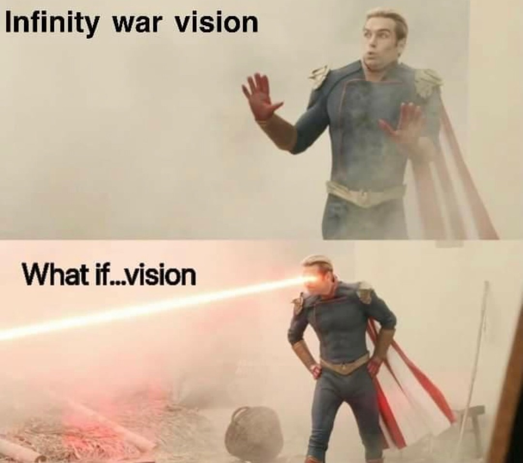 what if vision was stronk - meme