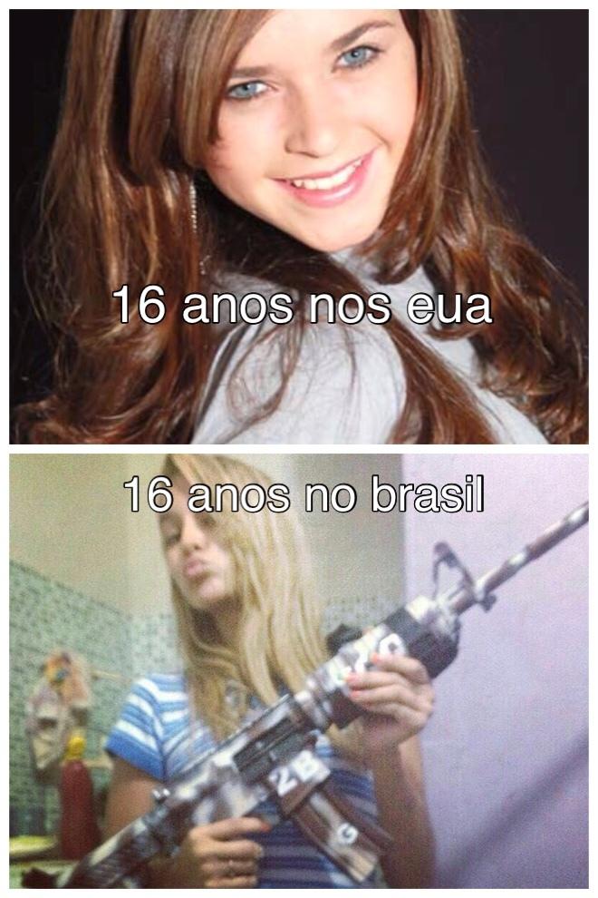 brasil ta insano - meme