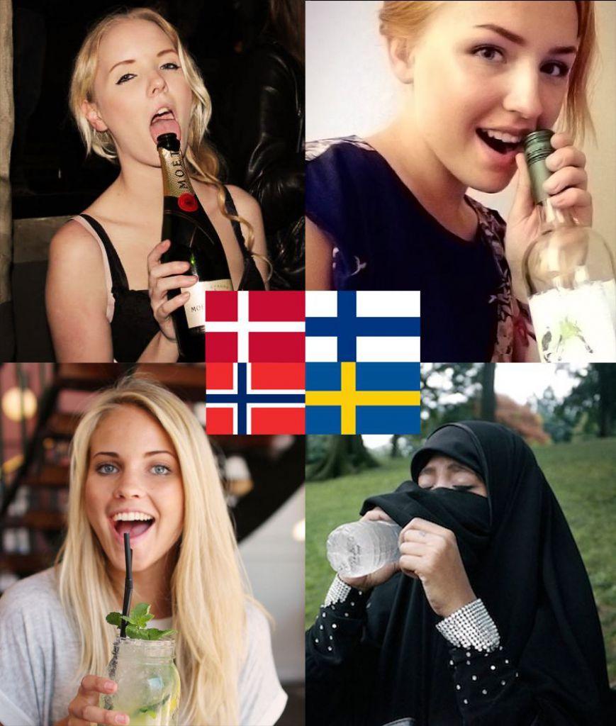 Finlândia não existe - meme