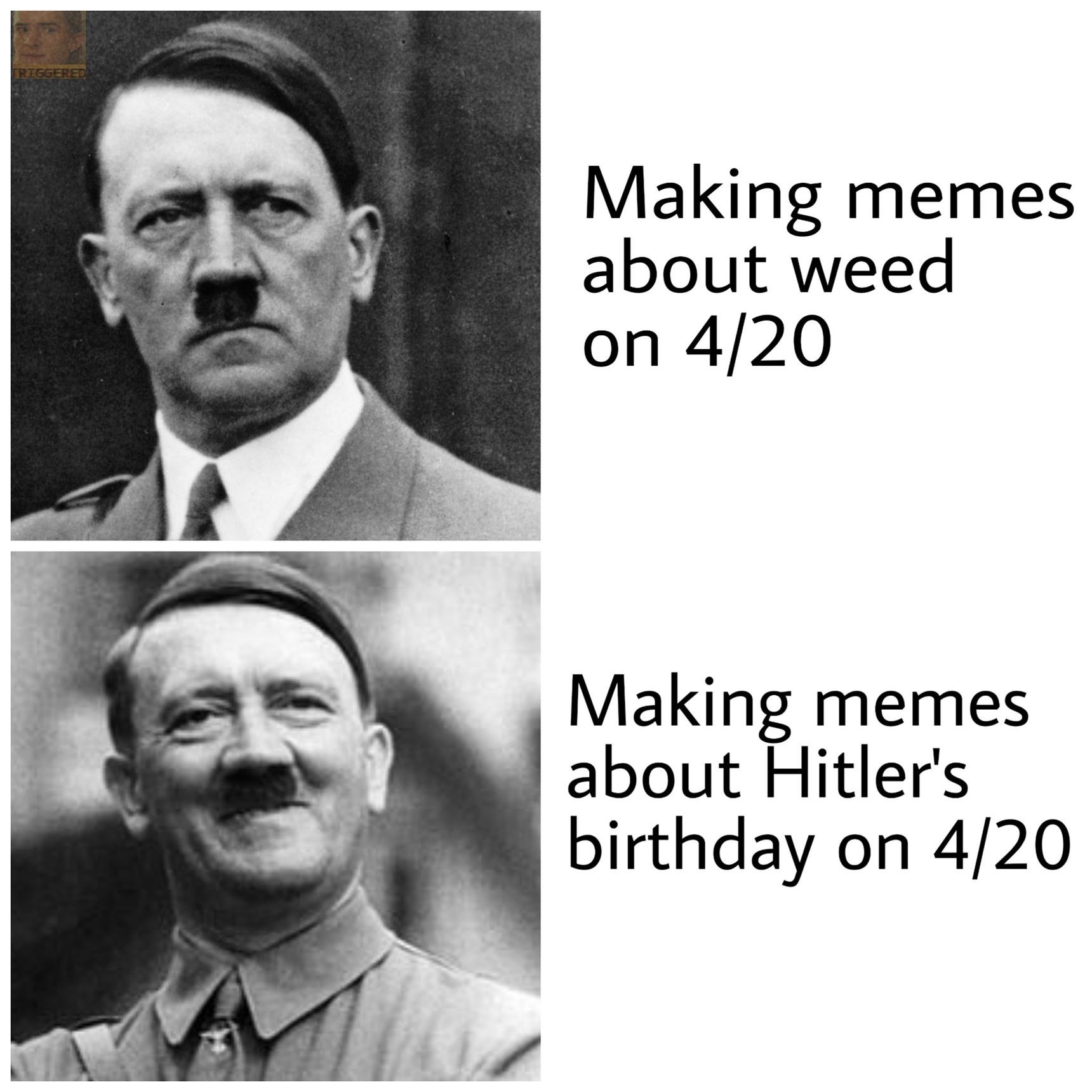 Happy birthday fuhrer - meme