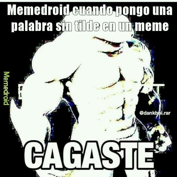 Cague ._.XD - meme