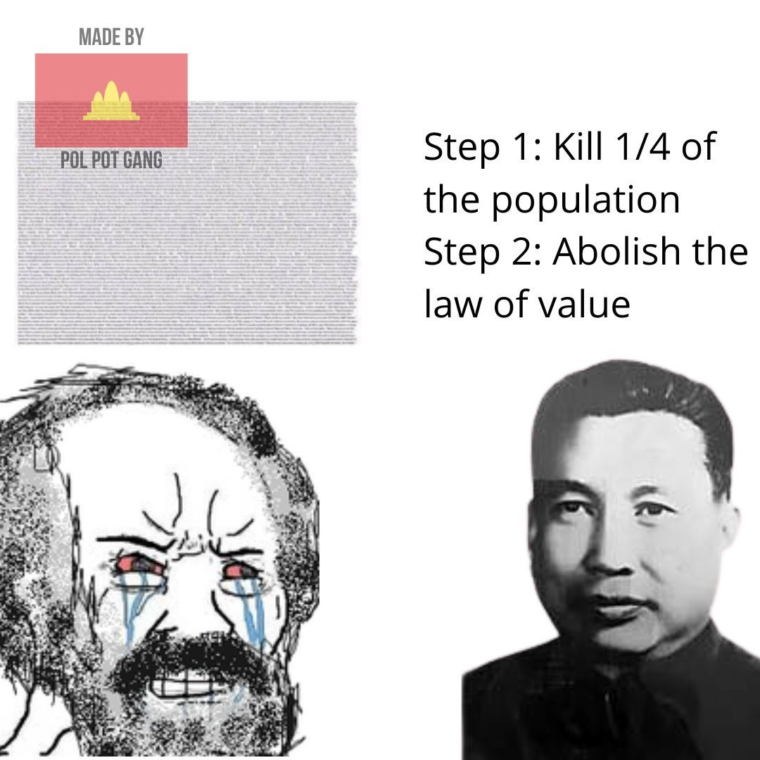 based pol pot - meme