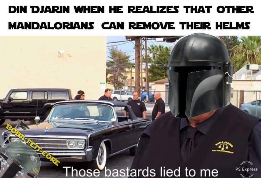 Long M a n d o - meme