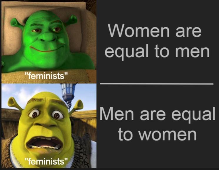 Green Shrek - meme
