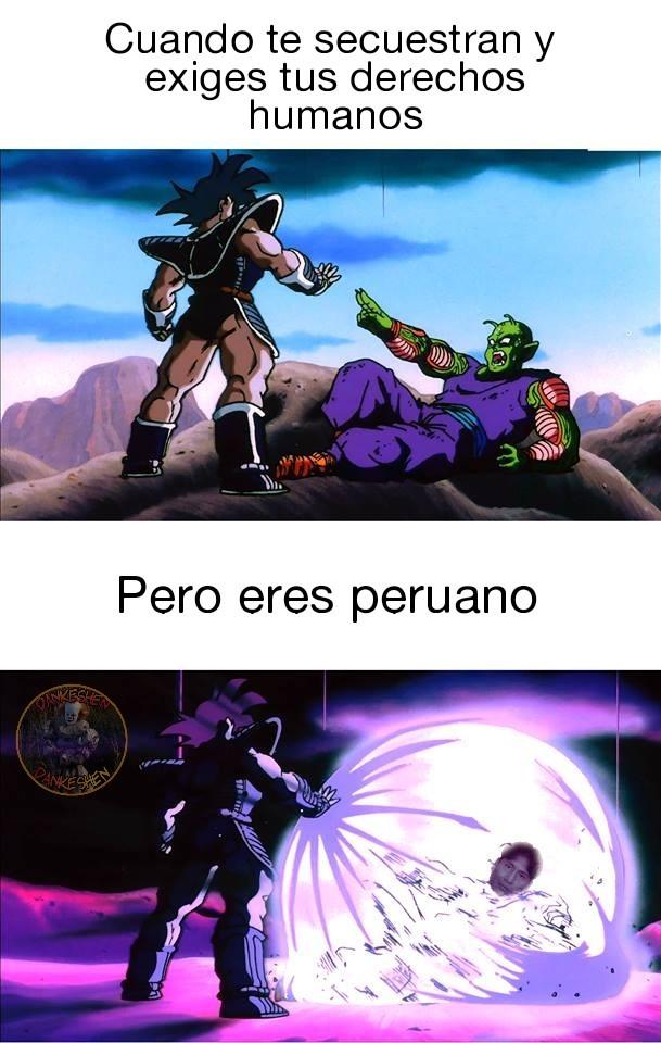 Peruvians - meme