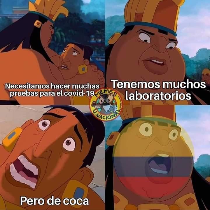 Ser cocalombiano es lo máximo - meme