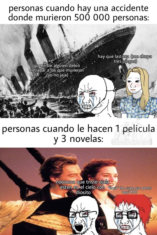 Titanic be like: - meme