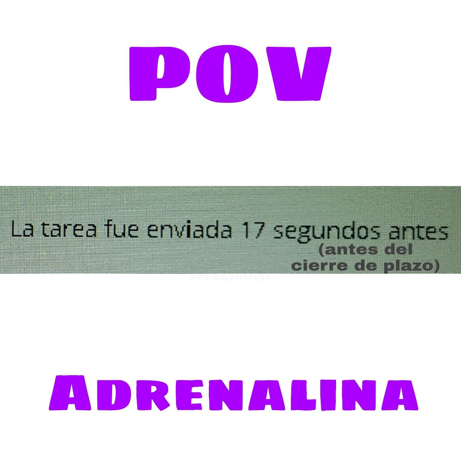 Adrenalina - meme