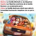 """Títulos de la Película """"La Familia Mitchell vs. las Maquinas"""""""