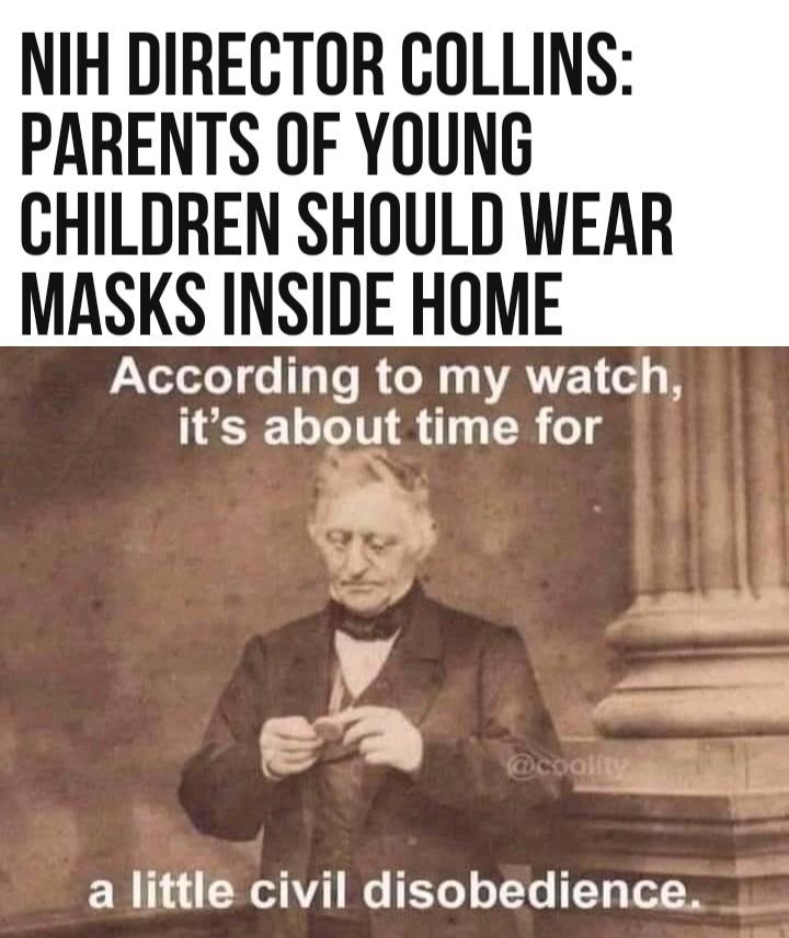 NIH promoting child abuse - meme