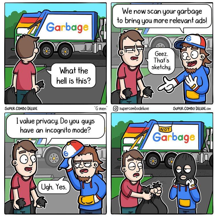 Google is for shills - meme