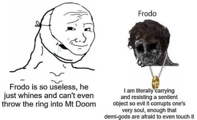 King Frodo - meme