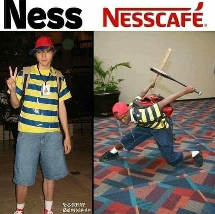 Ness robo el pk ฿( - meme
