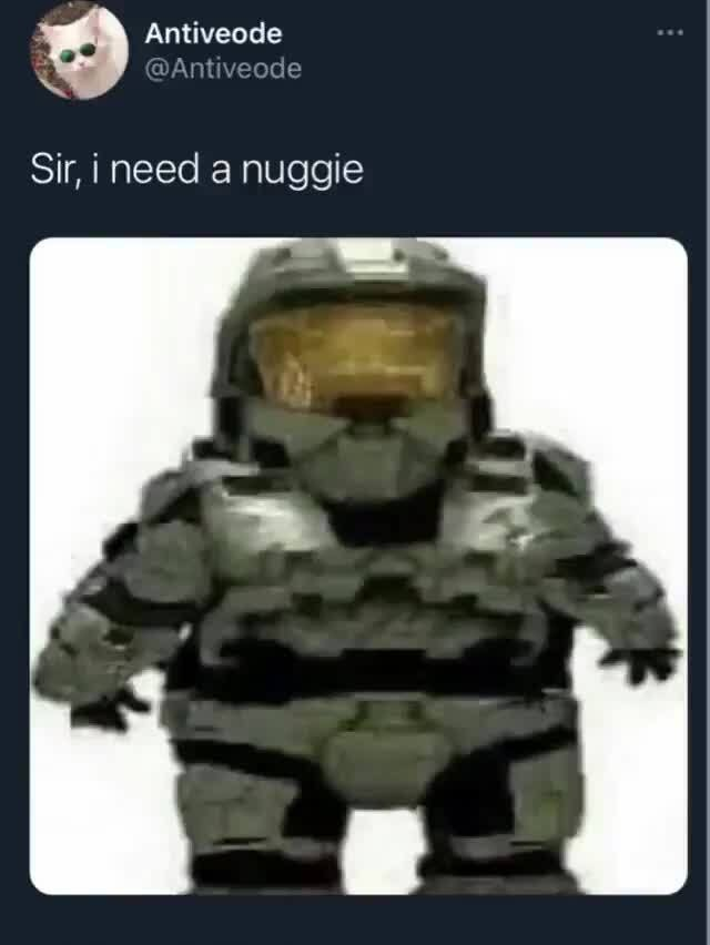 sir,i need a nuggie - meme