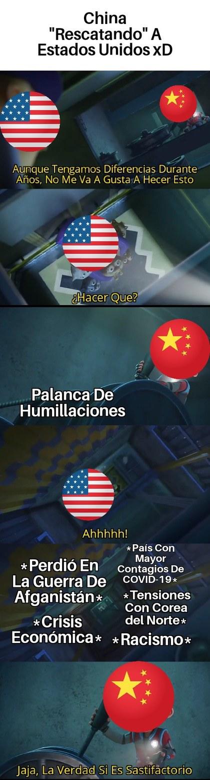Estados Unidos Perdió La Guerra (Otra Vez Con Los Taribanes) Y China Lo Humilló - meme