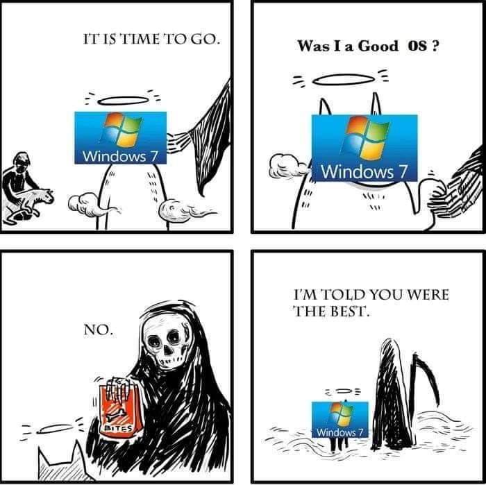 It was a good run - meme