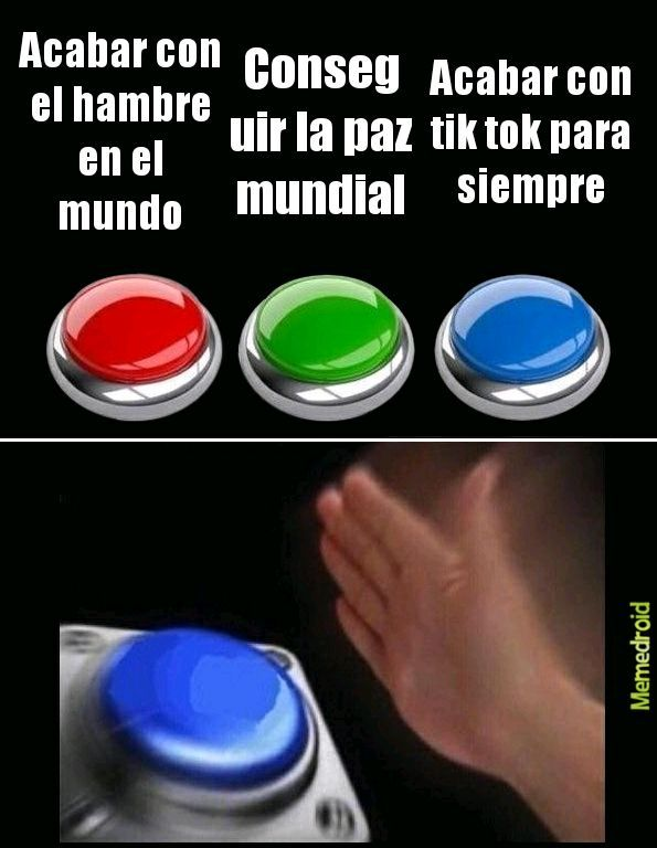 Botones - meme
