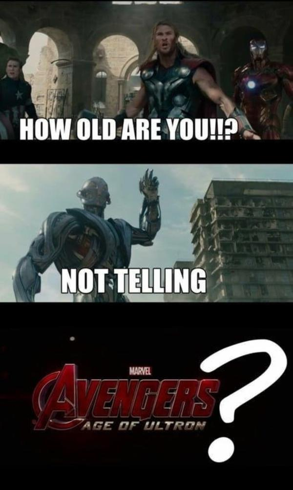Age of Ultron - meme