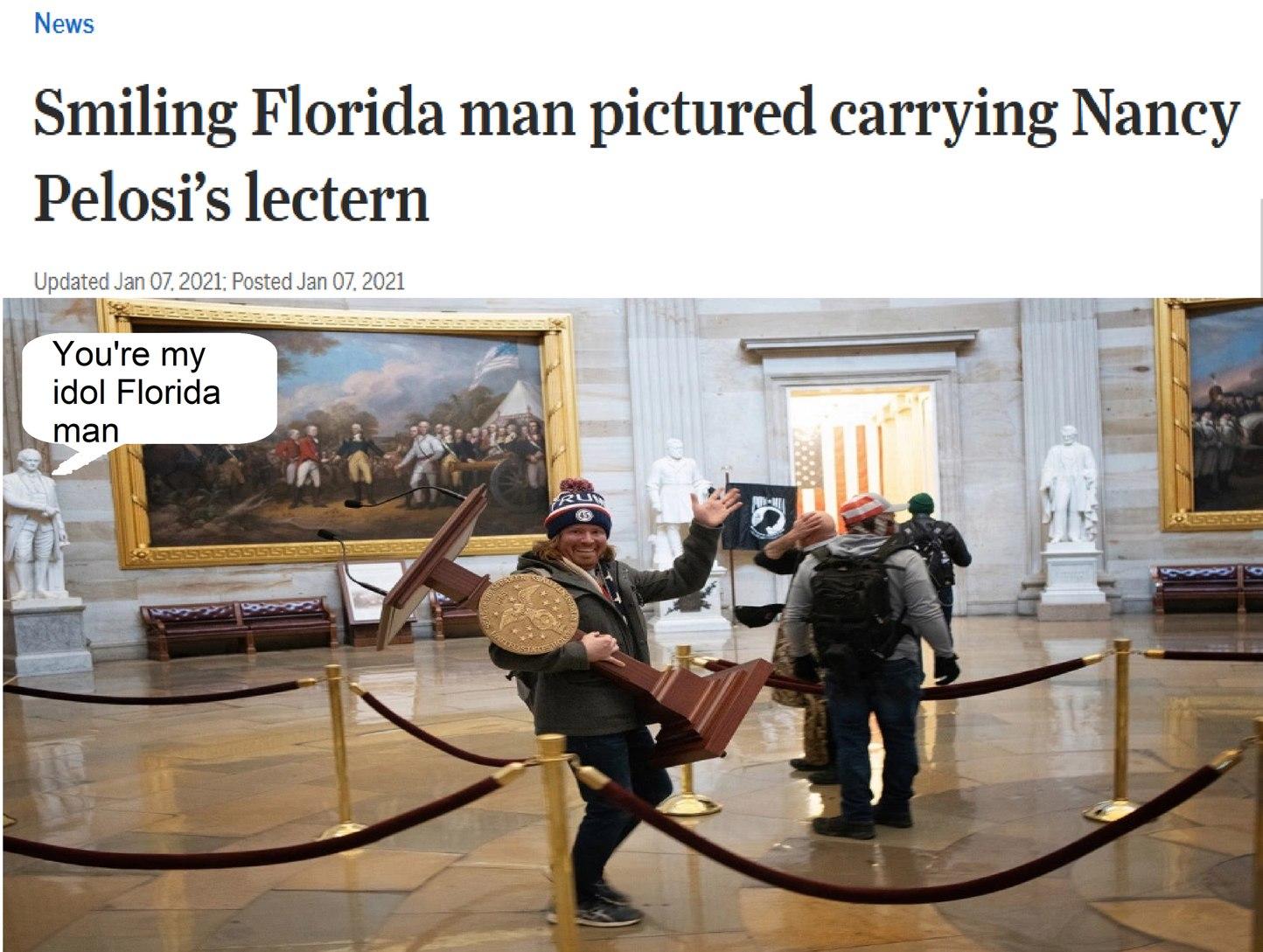 FLORIDAMAN SHOULD BE - meme