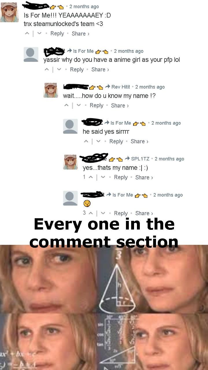 Confusion - meme