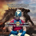 Zambia had the highest of dreams.