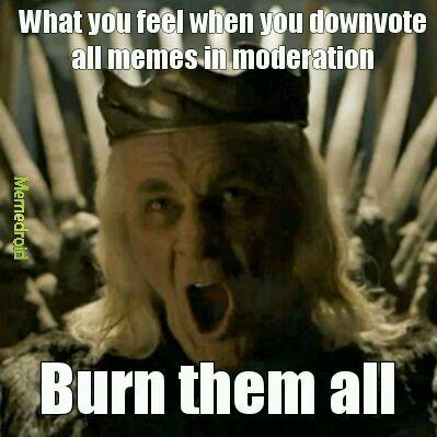 Burn them all - meme