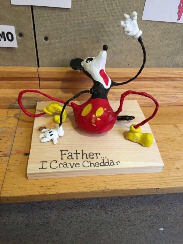 mmmm... Cheddar. - meme