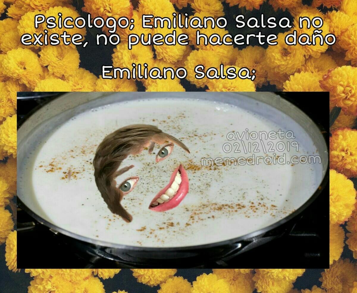 Emi salsa de tuco - meme