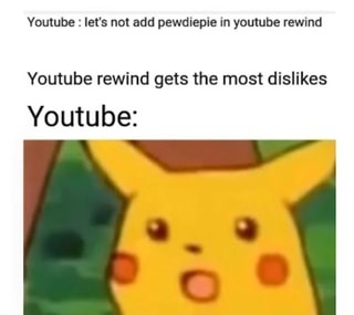 YouTube rewind - meme